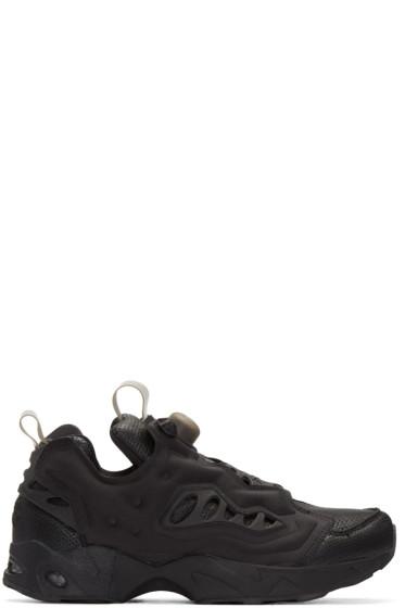 Reebok Classics - Black Instapump Fury Road Sneakers