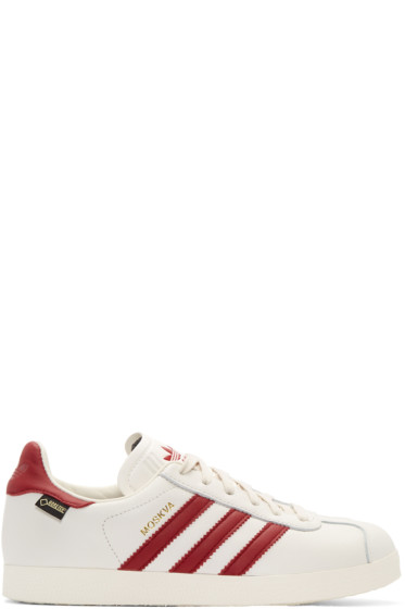 adidas Originals - White & Red Moskva GTX Sneakers