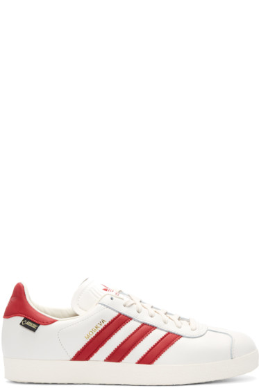 adidas Originals - White & Red Moskva GTX Sneakers