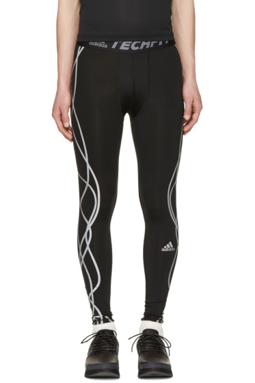 Adidas x Kolor - Black Techfit Tights