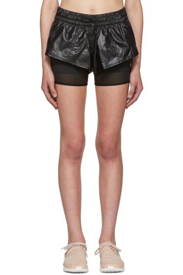 adidas by Stella McCartney - Black 2 In 1 Running Shorts