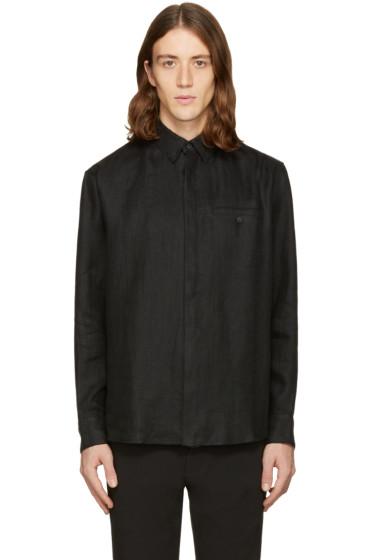Fanmail - Black Linen Shirt