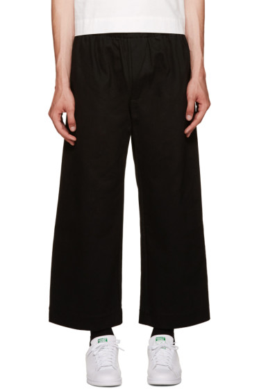 Phoebe English - Black Wide-Leg Trousers