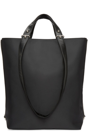 Haerfest - SSENSE Exclusive Black Expandable Tote Bag