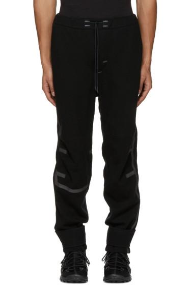 Y-3 SPORT - Black Wool Lounge Pants
