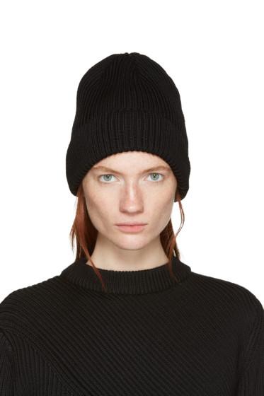 Hyke - Black Wool Beanie