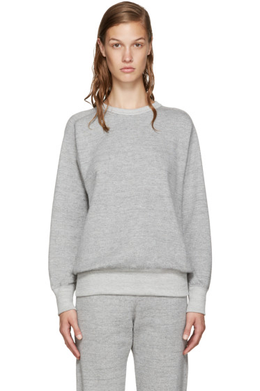 Hyke - Grey French Terry Pullover