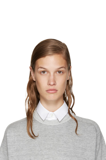 Hyke - White Poplin Collar