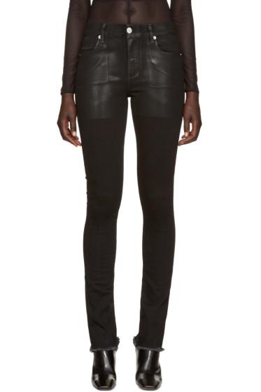 Alyx - Black Zip Back Skinny Jeans