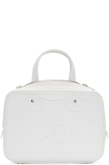 Courrèges - White Logo Bag