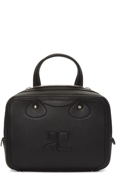 Courrèges - Black Logo Bag