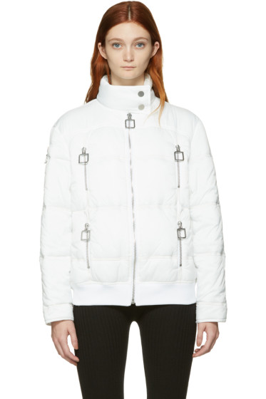 Courrèges - White Quilted Jacket