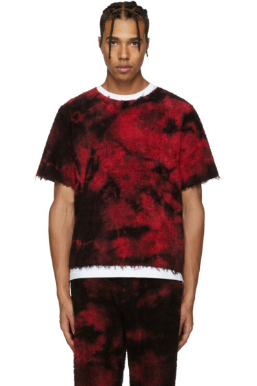 Haal - SSENSE Exclusive Red Sun T-Shirt
