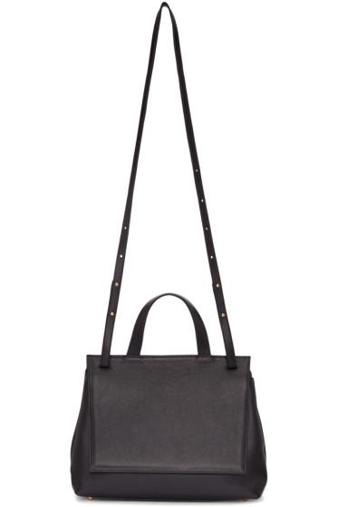Tsatsas - Black Leather Ada Bag