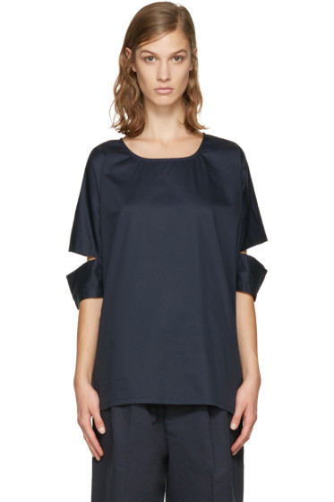 Perks and Mini - Navy Busy Release Top