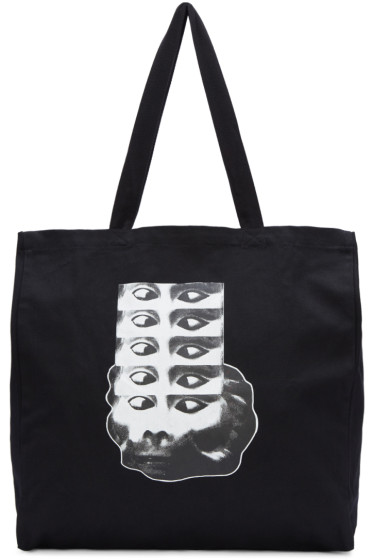Perks and Mini - Black Monkey Logo Tote