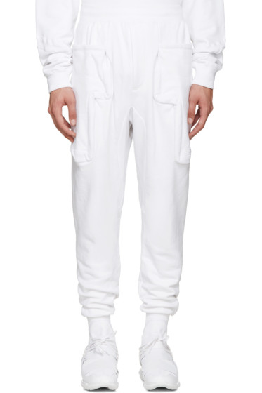 Perks and Mini - White Aktivity Duplo Lounge Pants