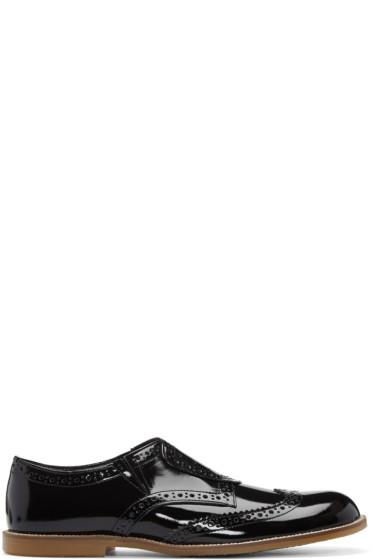 Tricot Comme des Garçons - Black Slip-On Brogues