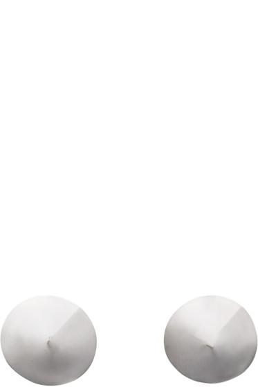 Lauren Klassen - Silver Spike Earrings
