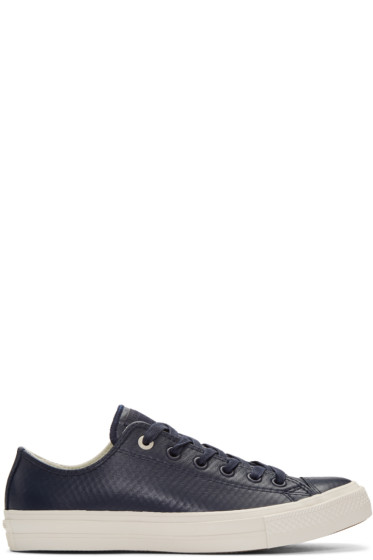 Converse - Navy CTAS II OX Sneakers
