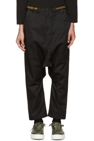 Ganryu - Black Sarouel Trousers