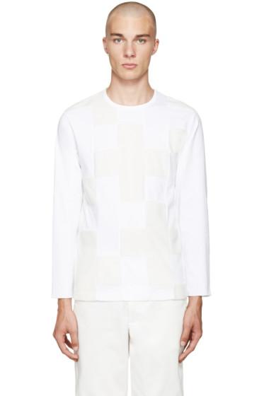 Ganryu - White Panelled T-Shirt