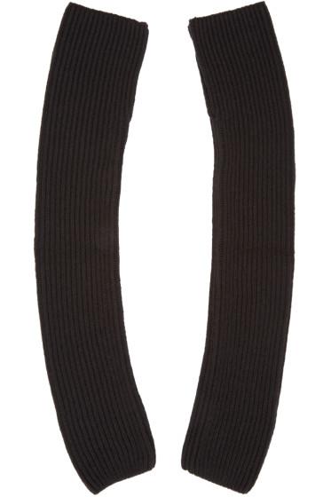 Nehera - Black Merino Wool Sleeves