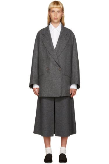 Nehera - Grey Wool Jobo Coat