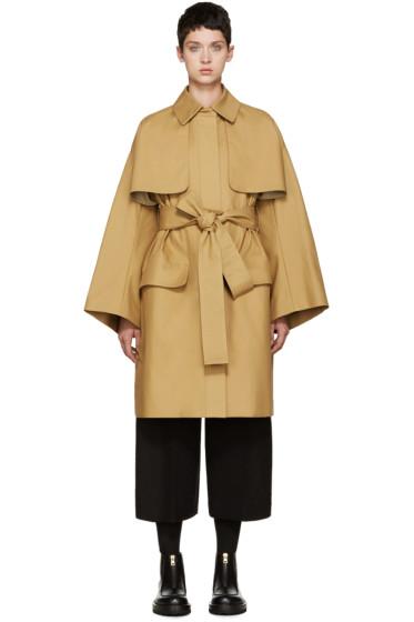 Cyclas - Tan Oversized Trench Coat