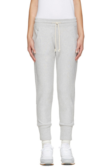 Champion Reverse Weave - Grey Small Logo Lounge Pants