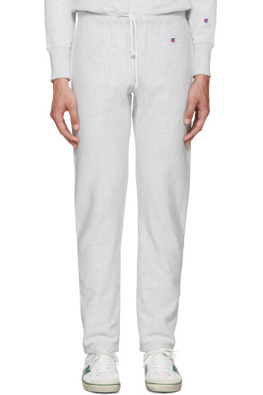 Champion Reverse Weave - Grey Reverse Weave Terry Lounge Pants