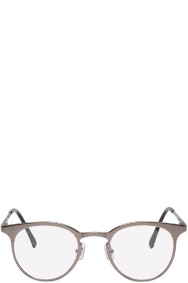 Gentle Monster - Gunmetal Pluto Optical Glasses