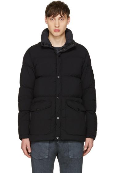 Stone Island - Black Down Puffer Jacket
