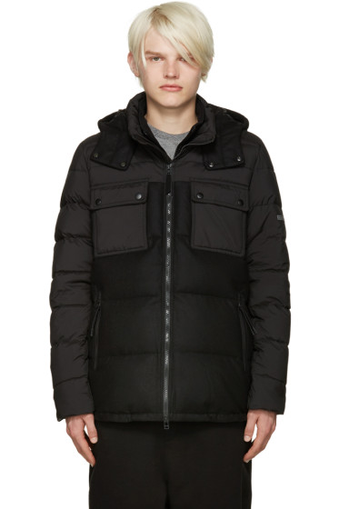 ISAORA - Black Down Combo Jacket