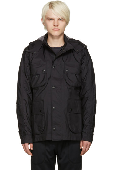 ISAORA - SSENSE Exclusive Black 3L Moto Jacket