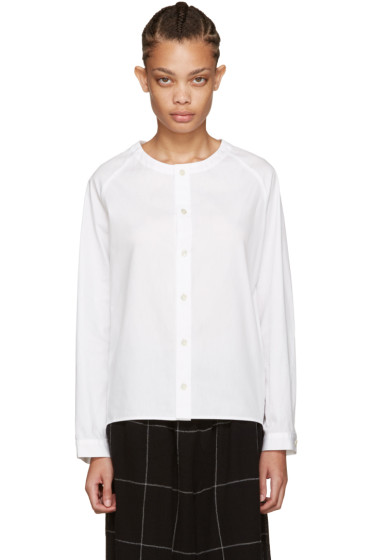 Nocturne #22 - White Boardcloth Shirt