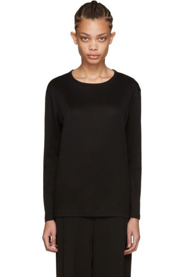Nocturne #22 - Black Long Sleeve T-Shirt