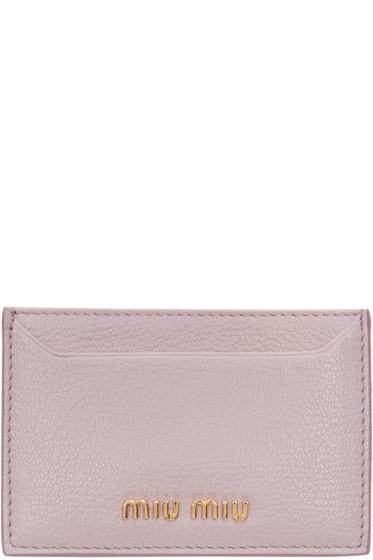 Miu Miu - Pink Card Holder