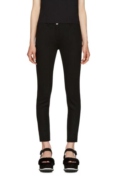 Miu Miu - Black Slim Cropped Trousers