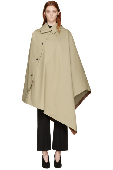 Mackintosh - Beige Cape Coat