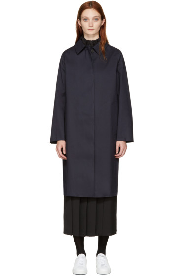 Mackintosh - Navy Classic Raincoat