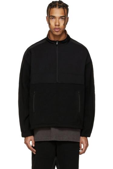 YEEZY Season 3 - Black Nylon & Polar Fleece Jacket