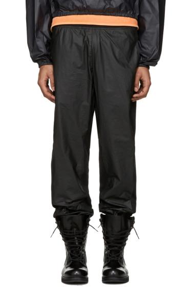 YEEZY Season 3 - Black Tyvek Jogger Lounge Pants