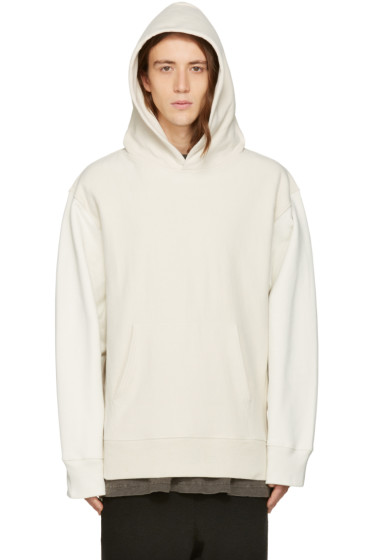 YEEZY Season 3 - Off-White Two-Tone Hoodie