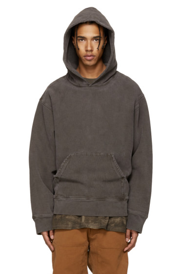 YEEZY Season 3 - Brown Fleece Hoodie