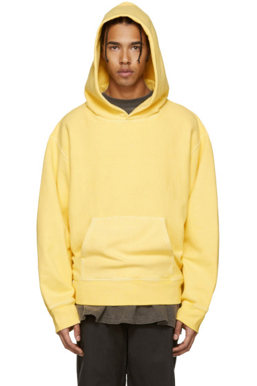 YEEZY Season 3 - Yellow Fleece Hoodie