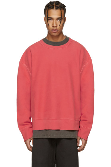 YEEZY Season 3 - Red Crewneck Sweatshirt