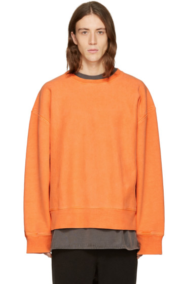 YEEZY Season 3 - Orange Crewneck Sweatshirt