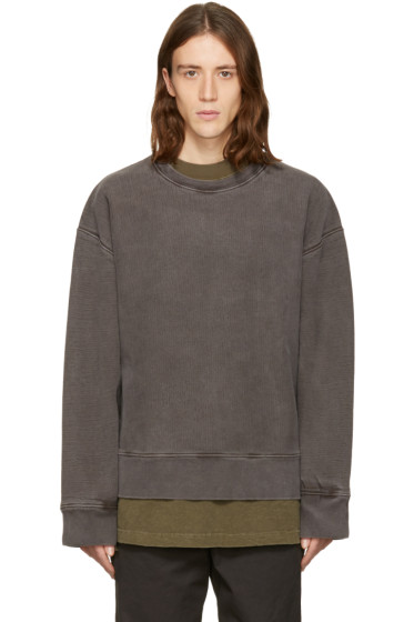 YEEZY Season 3 - Grey Crewneck Sweatshirt