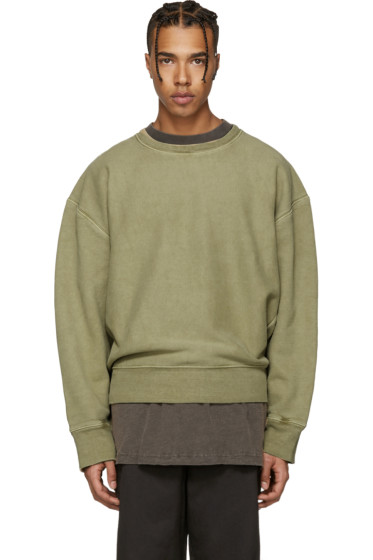 YEEZY Season 3 - Green Crewneck Sweatshirt